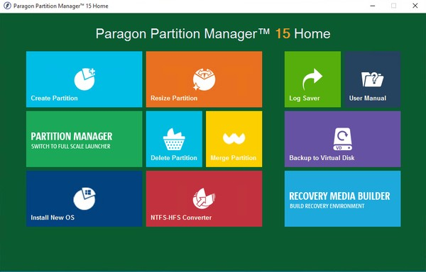 Paragon Partition Manager