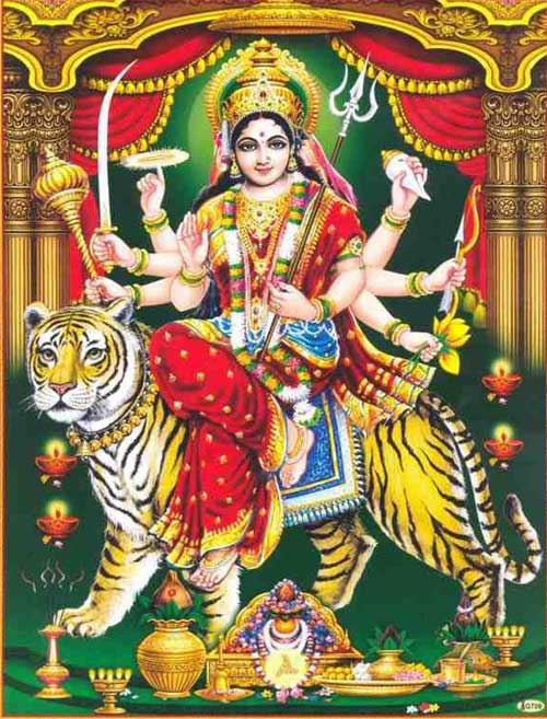 How to do Navratri Puja in North India Hindi Method with Ghatasthapana?