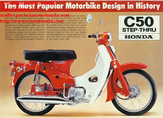 Honda Super Cub C50 motorcycle