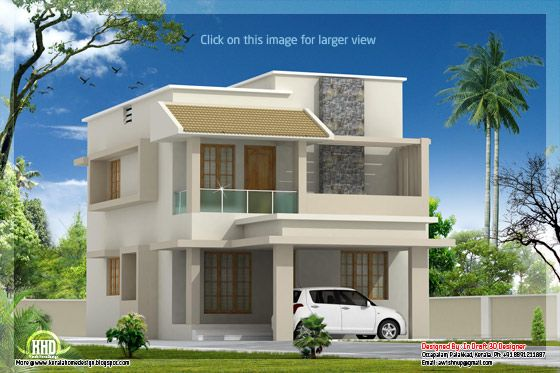 Modern villa with cost