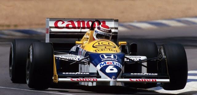 Piquet williams 1987 - Visita ao Remaza Collection