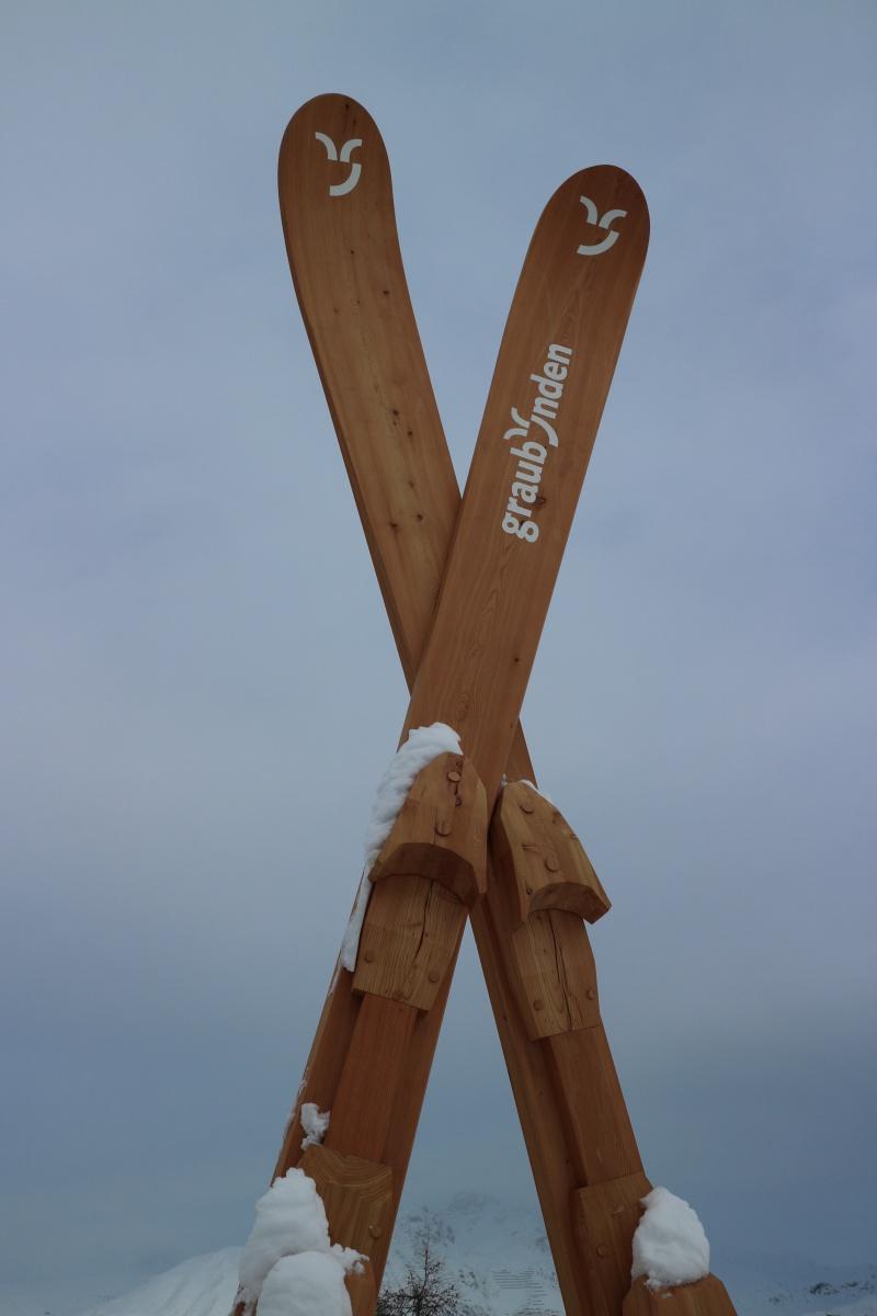 Ski von St. Moritz