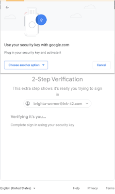 New 2-Step Verification options for G Suite accounts