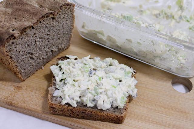 Pasta porowo-serowa
