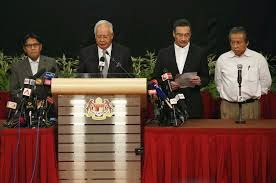 How Prime Minister Najib Razak Conclude MH370 Ended in Indian Ocean.