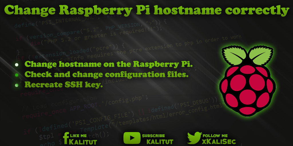 Raspberry Pi hostname