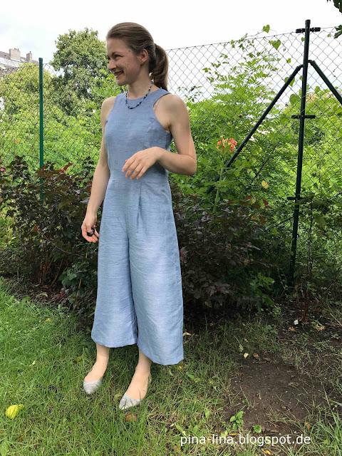 Es wird Sommer: Jumpsuit Iris nähen aus der La maison Victor