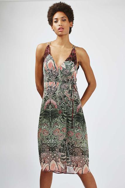 topshop sundress, pattern slip dress,