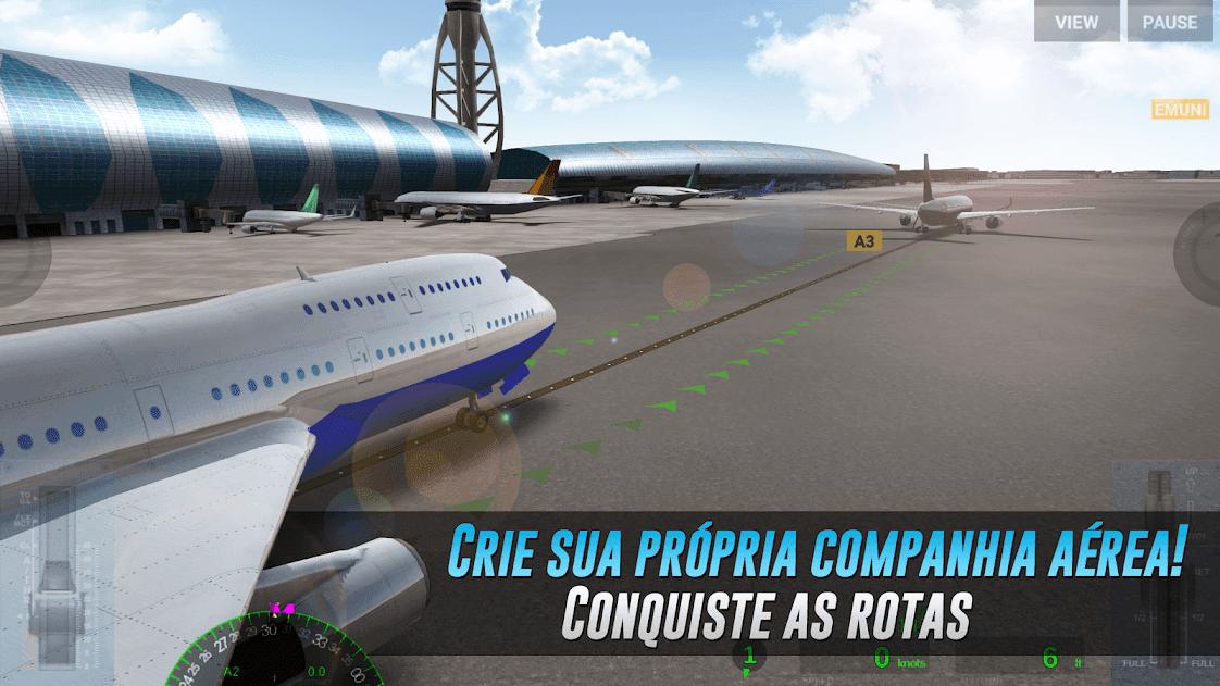 Airline Commander v 1.3.7 apk mod MISSÃO FÁCIL