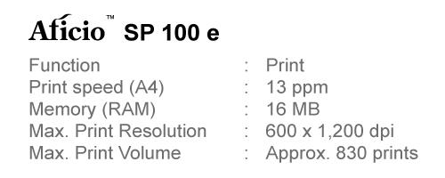 JQ Talks: RICOH Aficio SP 100 e Series Printers