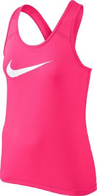 Dívčí tričko / top Nike Pro Cool Tank 727974-639 růžový