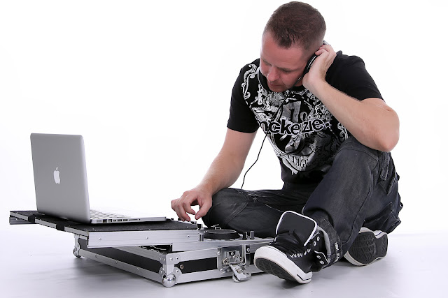 Fotos em estudio DJ