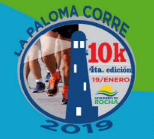 10k 5k 1k La Paloma Corre (4a.ed.; La Paloma - Rocha, 19/ene/2019)