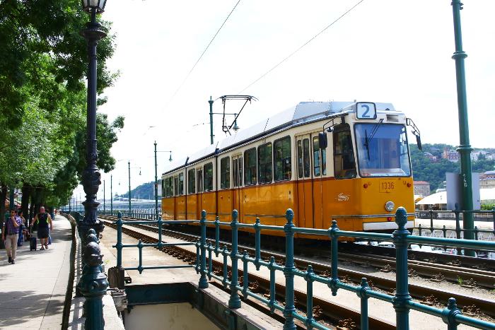 Budapest, matkustelu, ratikka