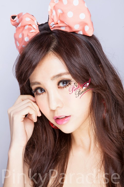 Princess Pinky Eclipse Grey Circle Lenses (Colored Contacts)