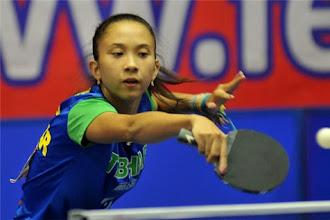Giulia Takahashi vence em categoria acima da sua no Aberto da Polônia do Circuito Mundial Junior de Tênis de Mesa