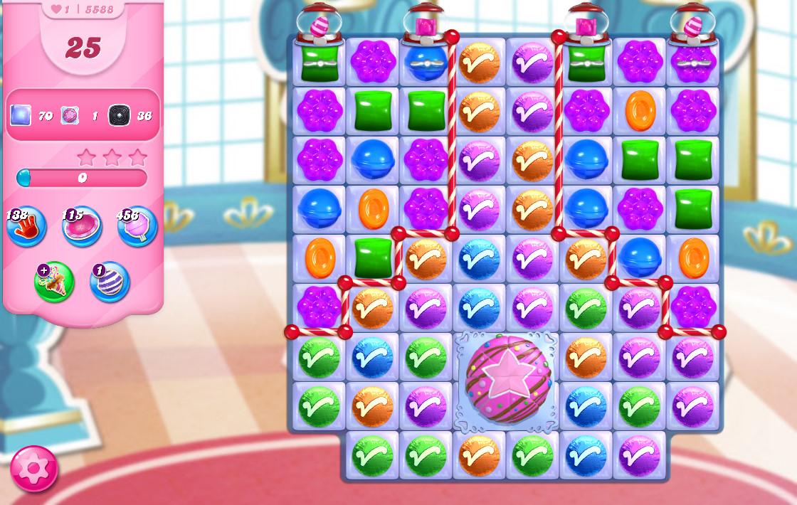 Candy Crush Saga level 5588