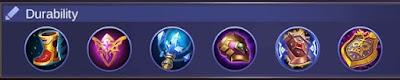 Build Item Faramis Mobile Legends Full Support