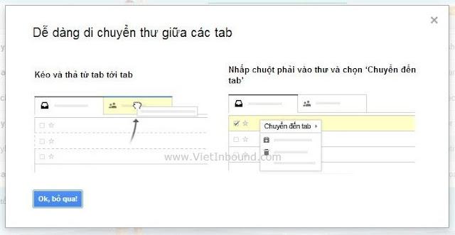5 phương án để thư được vào Primary Tab của Gmail