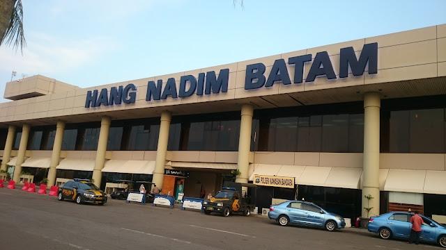 Hang Nading Batam Airport - Image Credit Blog Author Hasan Imam Mukut
