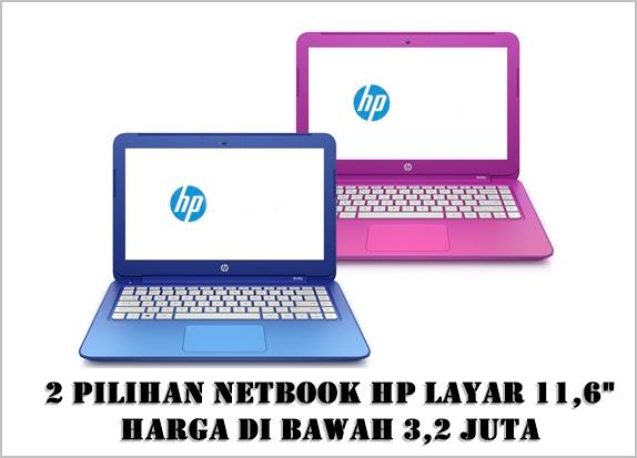 Ilustrasi Netbook HP Layar 11,6 Inci Harga Di Bawah 3,2 Juta