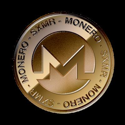 モネロ(Monero)のフリー素材(銅貨ver)