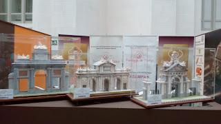 Esculturas de chocolate del Salón Internacional del Chocolate de Madrid.