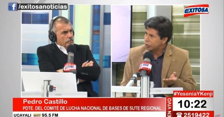 ¿Qué dijo Pedro Castillo sobre el nuevo ministro de educación Idel Vexler? (Nicolás Lúcar - Exitosa)