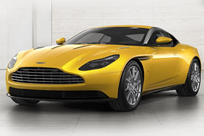 2017 Aston Martin DB11 yellow HD Pics