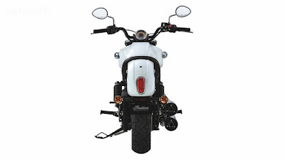 2016 Indian Scout Sixty Cruiser Motorcycle rear look