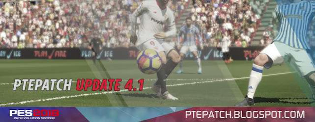 Option File For PTE Patch 4.1 PES 2018