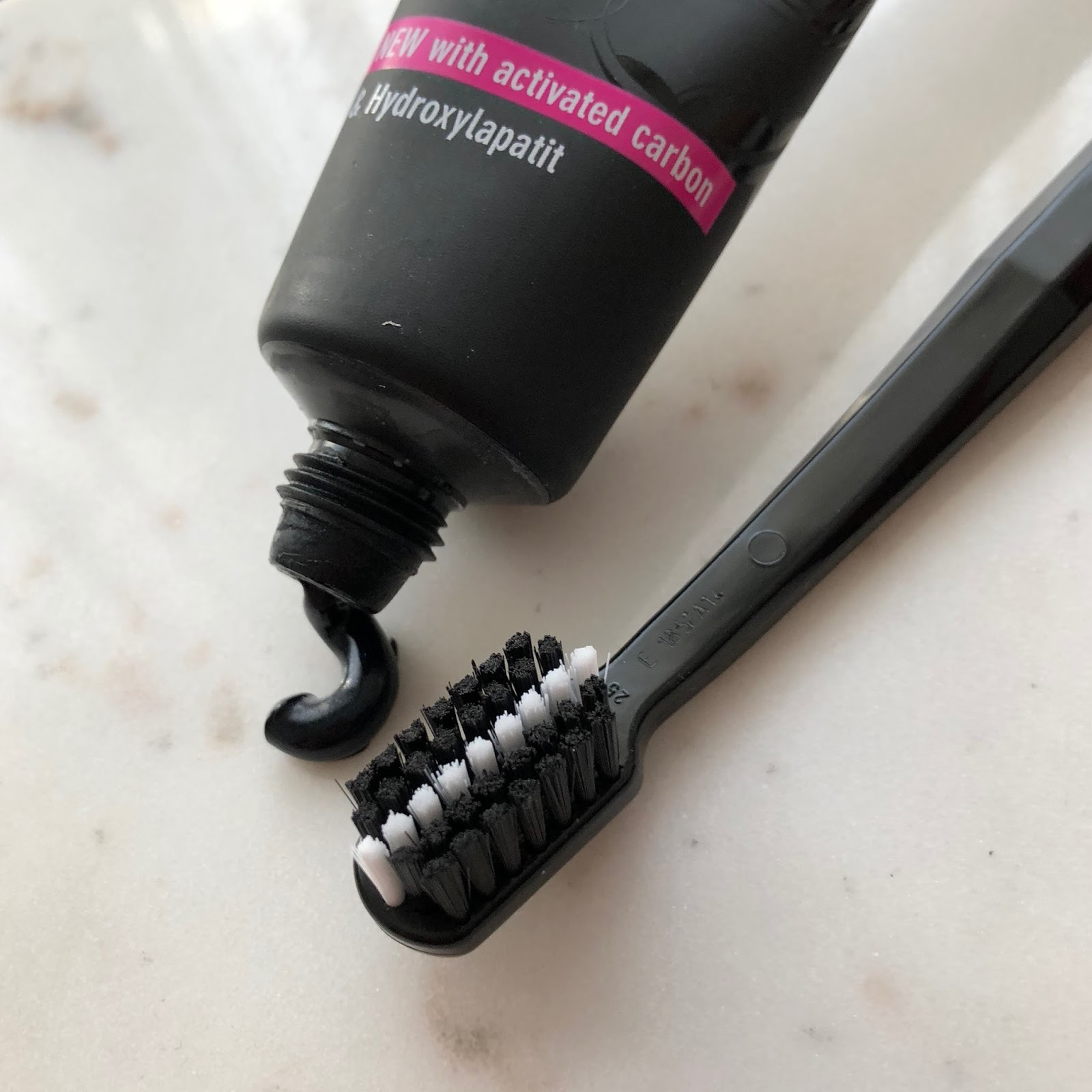 Glow Beauty Blog Review Curaprox Black Is White