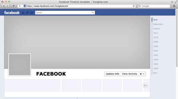 Facebook Timeline Cover Page templates - Download Facebook Timeline