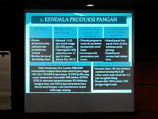 Kendala Dalam Produksi Pangan di Indonesia