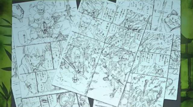 Szkice nowej mangi Masashiego Kishimoto