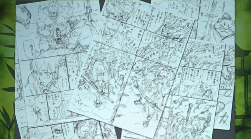 Rysunki z nowej mangi Masashiego Kishimoto