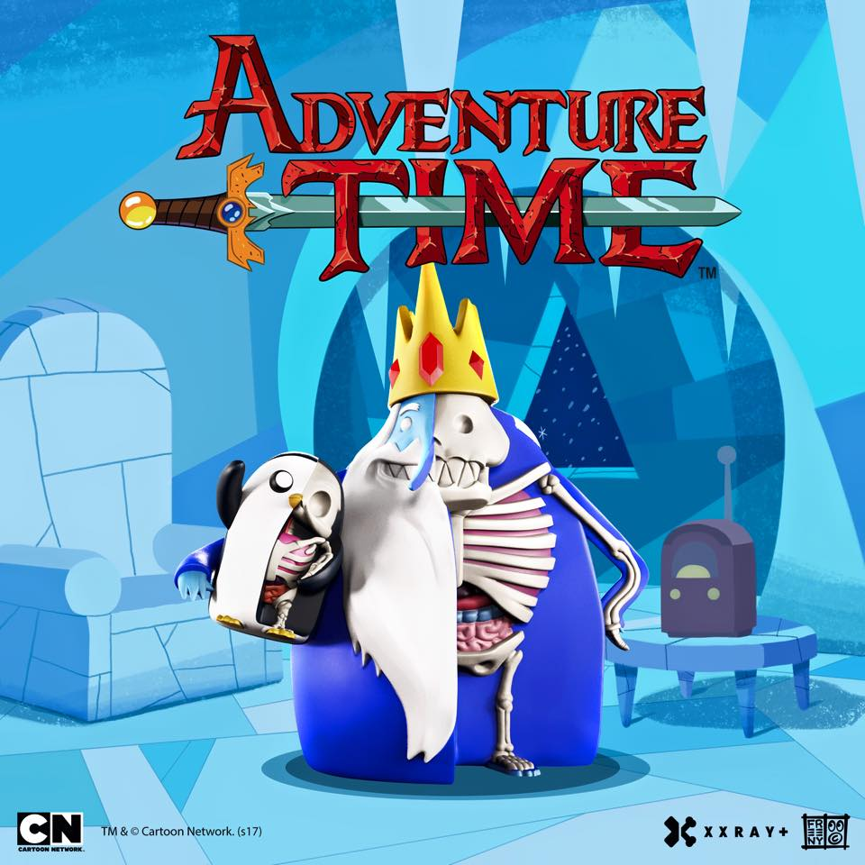 XXRAY PLUS ICE KING GUNTER From Adventure Plus Jason Freeny X Mighty Jaxx