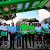 Entrega MVC campo de fútbol rehabilitado con pasto sintético en Jiquipilas