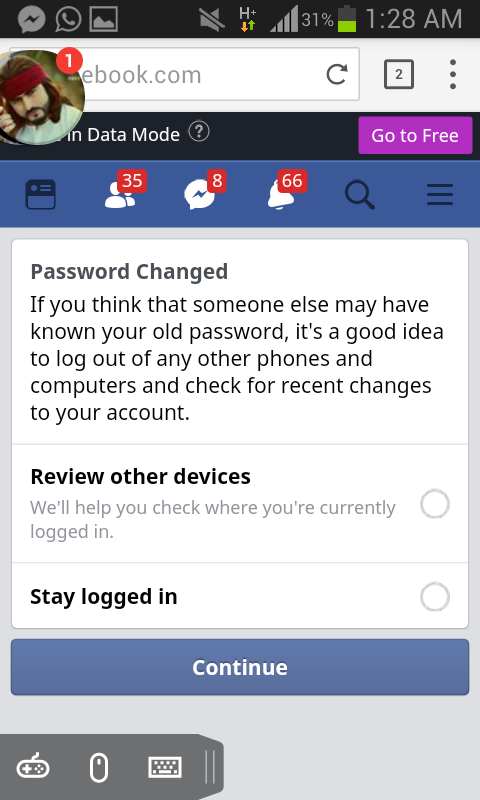 Hamza trick and teach zone: How to recover Fb Old Name