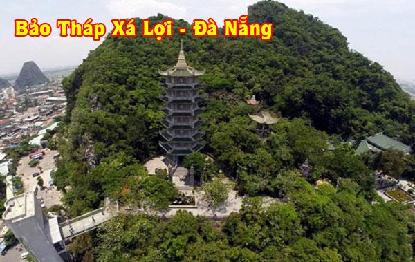 Bảo tháp Xá Lợi chùa Đà Nẵng