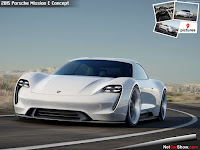 Porsche Mission E Concept (Credit: netcarshow.com) Click to Enlarge.