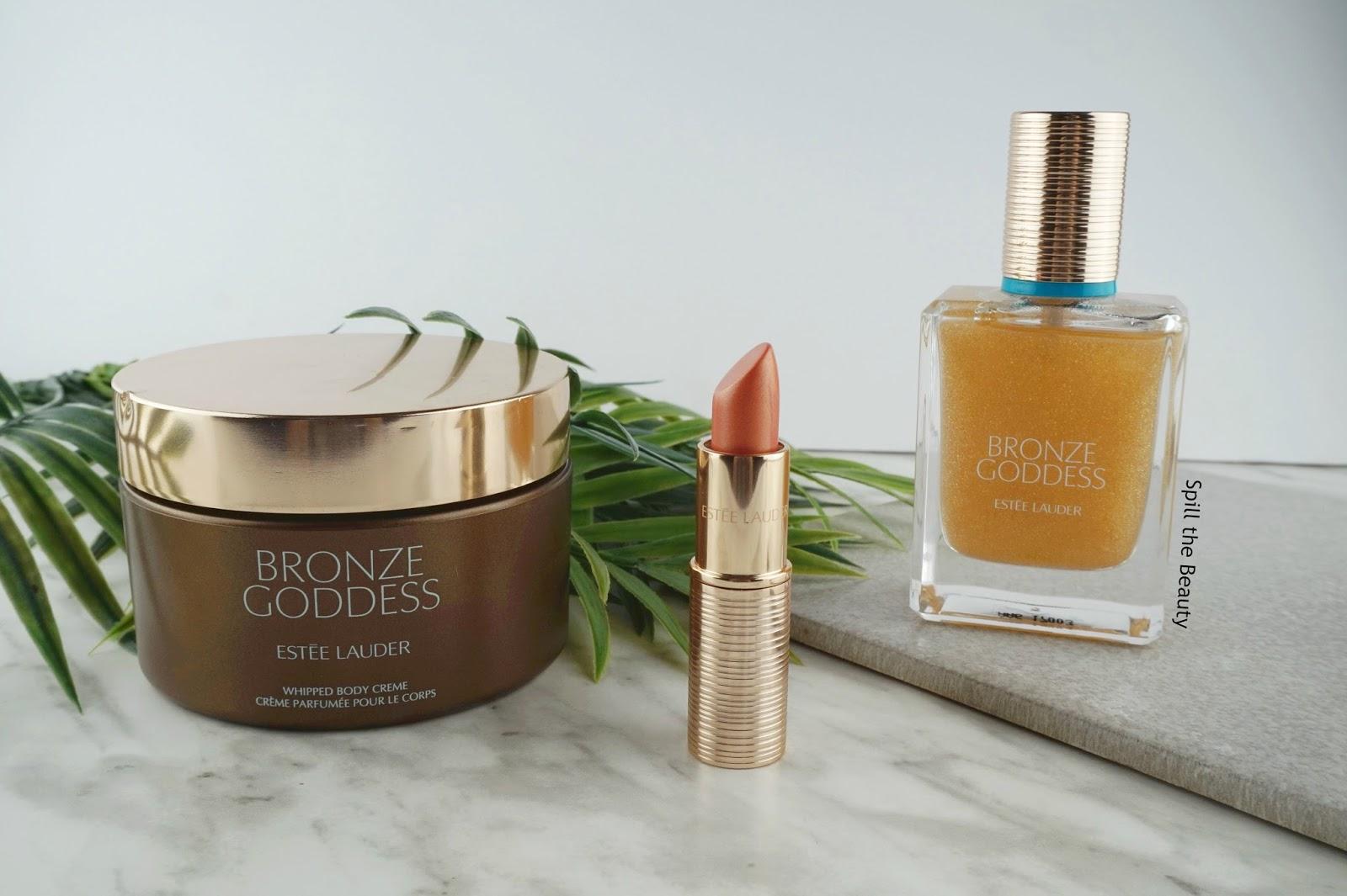 estee lauder bronze goddess makeup fragrance summer 2017 review swatches