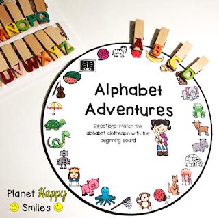 Target Dollar Spot Alphabet Clips, Alphabet Wheels