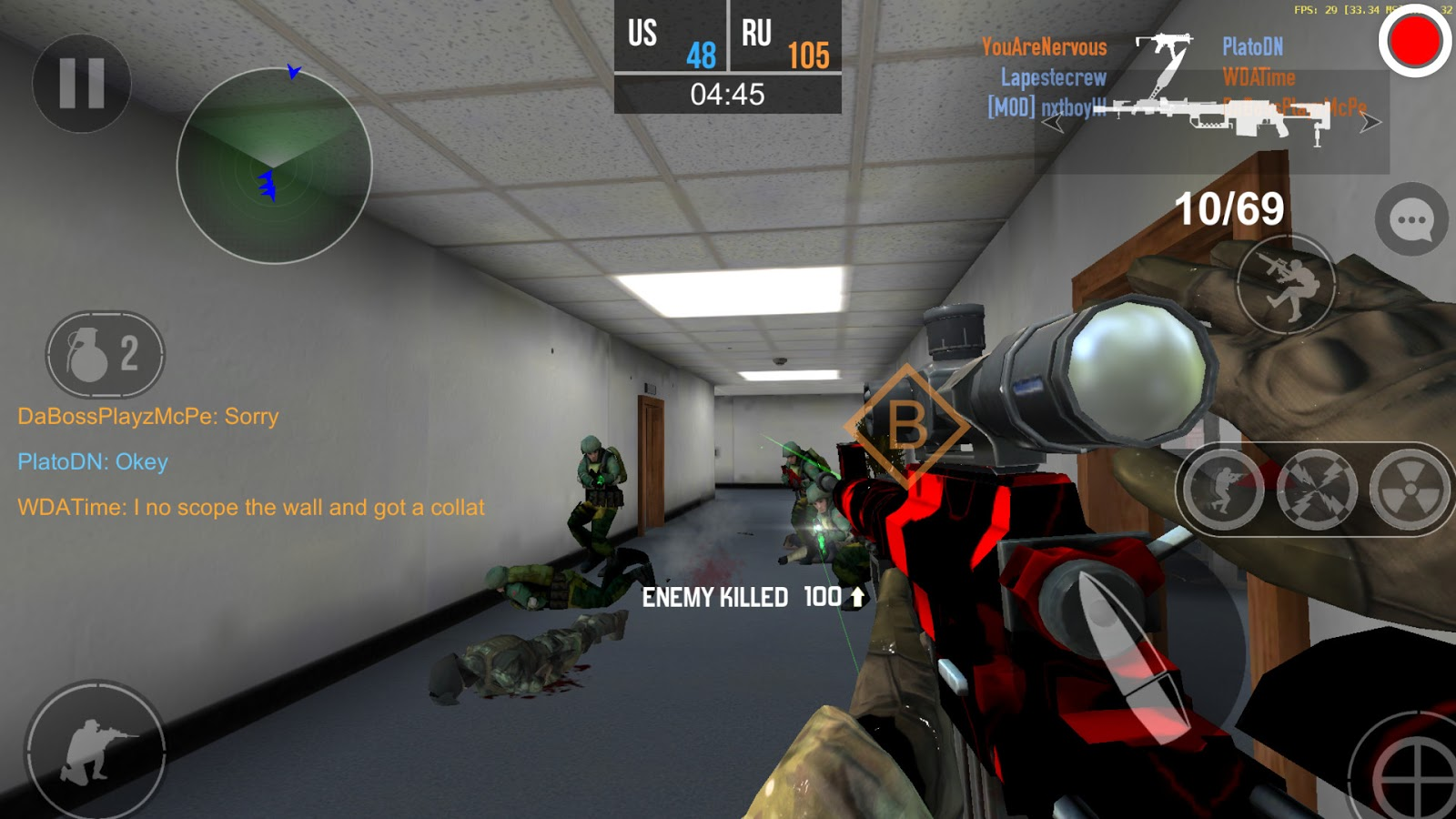 Bullet Force mod apk unlimited gold