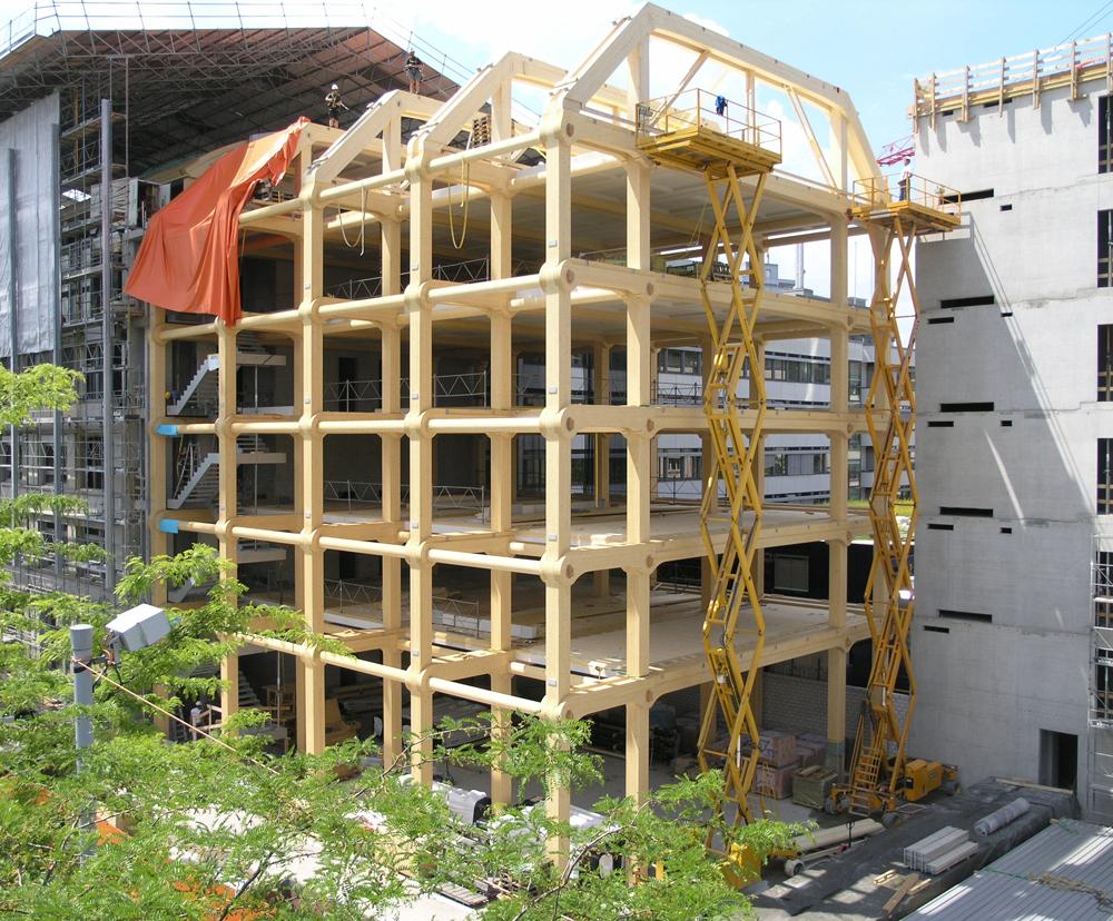 APUNTES - REVISTA DIGITAL DE ARQUITECTURA: Edificios de madera ...