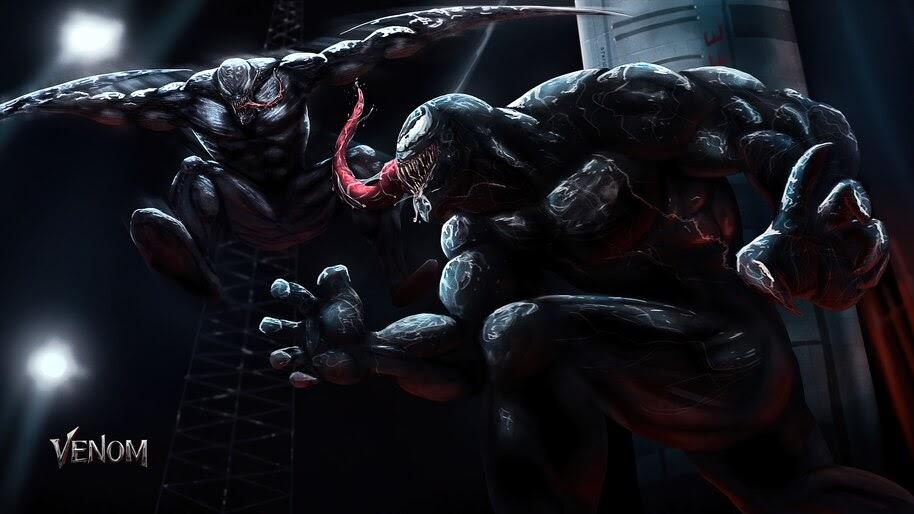 Venom vs Riot, Marvel, 4K, #6.1147
