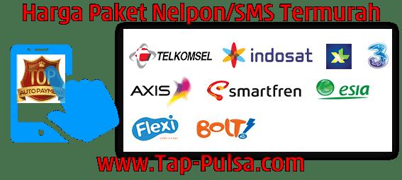 Tap-Pulsa.Com Agen Pulsa Paket Telepon SMS Termurah