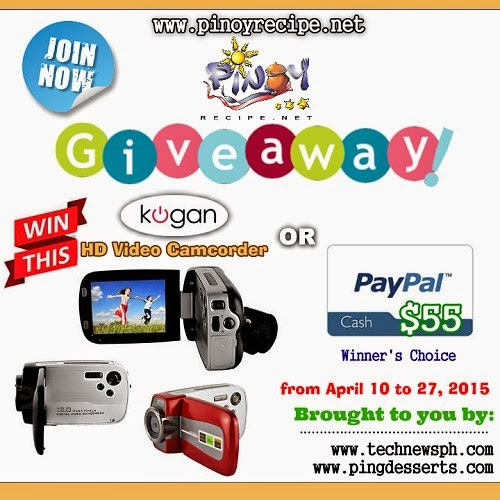 KOGAN 12MP HD VIDEO CAMCORDER giveaway