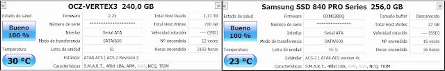 CrystalDiskInfo - Samsung 840 Pro