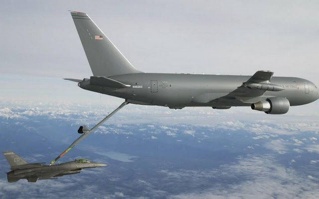 FIRST AIR REFUELING TEST FOR KC-46A